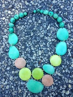 Catalina Island Driftwood Necklace in Sea Green. Shop for this and many more items at Emma Laura in Dublin GA in Ivy Place shopping center. You can also purchase by phone at 478-272-2095 or shop our website at www.emmalaura.com.