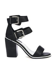 Enlarge Senso Robyn I Black Mid Heeled Sandals