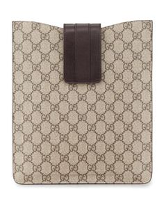 V1D1H Gucci Original GG Canvas iPad Case