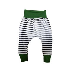 A personal favorite from my Etsy shop https://www.etsy.com/listing/230416603/striped-baby-harem-pants-navy-and-white