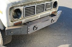 Scout II Winch Bumper - Extreme Duty - International Scout Parts - Scout II Parts - Your Authorized IH Lightline Dealer Truck Flatbeds, Truck Mods, Truck Parts, Custom Truck Beds, Custom Trucks, Custom Truck Bumpers, Off Road Bumpers, Winch Bumpers, International Scout Parts