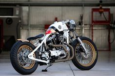 DP Custom Cycles of New River, Arizona, is a relatively new shop, but one going from strength to strength. Their latest bike is 'Look Right', and it's certainly a sharp looker—with styling cues taken from one of Jacques Villeneuve's BAR Honda F1 racing cars. In the early 00s, BAR cars carried distinctive Lucky Strike branding,…
