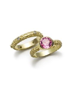 9 Pink Gem Engagement Rings You MUST Peek At!: FROM JANE BOHAN