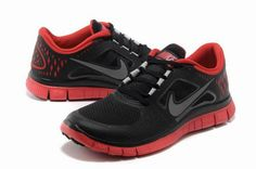 Nike Free Run 3 Men's Running Shoes Carton/Red