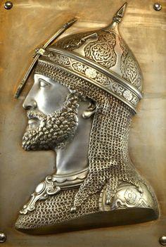 Ottoman Empire Helmeted Warrior (Osmanlı Miğferli Savaşçı)