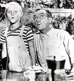 Dennis the Menace and Mr. Wilson