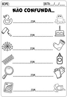 Winter Math Worksheets & Activities No Prep Fall Preschool Activities, Learn Portuguese, Subtraction Worksheets, Math For Kids, Speech Therapy, Gabriel, Literacy, Homeschool, Teaching