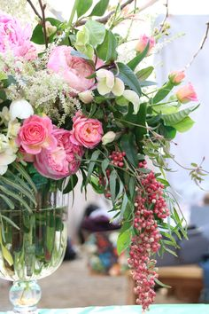 Luscious blooms by Pretty Fetes created at the orchid Farm...Santa Barbara #florabundancedesighndays
