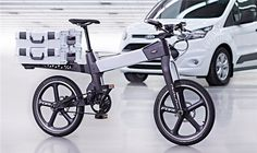 3ders.org - Ford uses 3D printing to help develop revolutionary new smart bikes | 3D Printer News & 3D Printing News