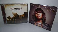 KIRK FRANKLIN Losing My Religion - ANGIE STONE Dream: R&B Gospel Music CD's MINT #Gospel