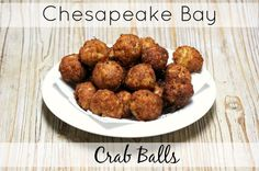 Chesapeake Bay Crab Balls-a perfect party appetizer from @olives