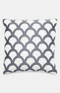 kate spade new york 'embroidered scallops' pillow