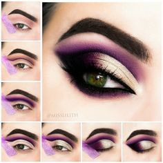 36 Ideas Eye Makeup Purple Gold Make Up Purple Eye Makeup Eye Gold Ideas Makeup . 36 Ideas Eye Makeup Purple Gold Make Up Purple Eye Makeup Eye Gold Ideas Makeup Purple Makeup Eye Looks, Purple Eye Makeup, Eye Makeup Steps, Makeup For Brown Eyes, Smokey Eye Makeup, Eyeshadow Makeup, Beauty Makeup, Makeup Brushes, Makeup Remover