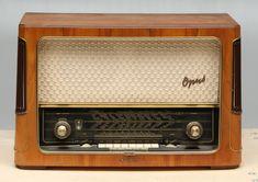 """""""Opus"""" radio by Telefunken, 1950s."""