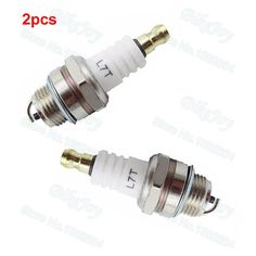 2pcs/pack L7T Ignition Spark Plug 47cc 49cc 2 Stroke ATV Quad Go Kart Tricycle Dirt Pocket Mini Moto Bike Motorcycle Parts