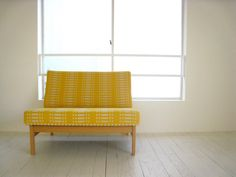 Sunny upholstery Japanese Modern, Textiles, Chair Fabric, Bauhaus, Love Seat, Minimalism, Upholstery, Chairs, Mid Century