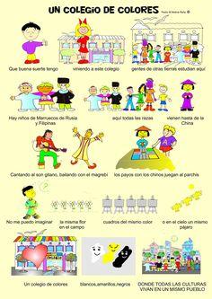 Cancion Infantil Paz e Interculturalidad Un cole de colores