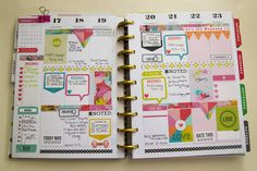 Mambi Planner | Aug 17th week by Jenn McCabe with Digital Supplies from The Lilypad