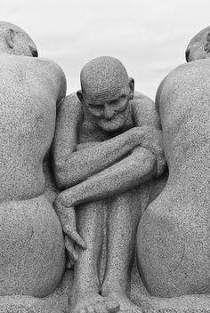༻✿༺ ❤️ ༻✿༺ The Sculptures of Gustav Vigeland Park in Oslo, Norway ༻✿༺ ❤️ ༻✿༺