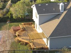 Backyard Idea Deck Design Cool and Unique
