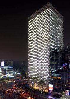 Archium's City Hive Tower Has A Perforated Facade Modelled On Honeycomb | 2015 Decorating