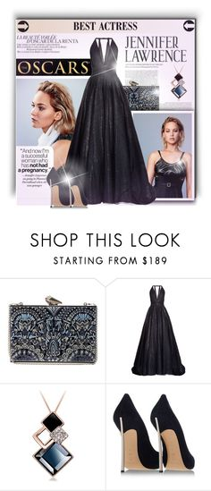 """""""Oscar Red Carpet: Go Glam!"""" by milica1940 ❤ liked on Polyvore featuring KOTUR, Sophie Theallet and Casadei"""