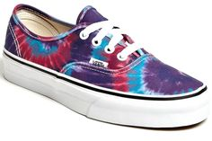 25 Surprising(ly Wearable) Ways to Try Tie Dye: Vans Sneakers. It's sad how uncomfortable vans are, and a shame that I keep buying them!