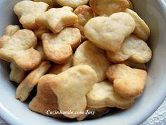 Biscoitinhos Rústicos de Queijo