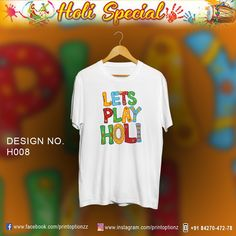 Celebrate This Year Holi With these Cool Holi Tshirts. All sizes available. Contact- 8427047278 Paytm and bank Transfer only Holi, Festival T Shirts, Celebrities, Women, Fashion, Moda, Celebs, Fashion Styles, Holi Celebration