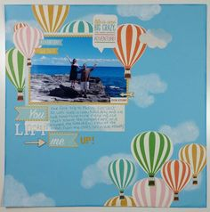 SCDT2015: You Lift Me Up! Featuring Carta Bella Soak up the Sun collection-Angie Rushlow