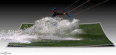 Kitesurfer 3D by tohabi