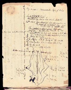 "Percy Bysshe Shelley's Manuscript for ""Ozymiandias"""