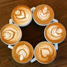 Latte Art by Dritan Alsela Coffee Latte Art, Circle Of Life, Pattern Art, Tableware, Beverages, Food, Friday, Dinnerware, Meal