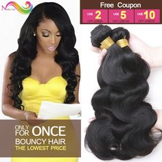 Brazilian Virgin Hair Body Wave 3 Bundles Hair Extensions Body Wave Brazilian Hair Weave Bundles 7A Unprocessed Virgin Hair  *** Details on product can be viewed by clicking the VISIT button