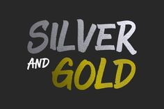 Silver and Gold Styles by sparklestock