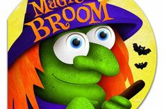 Magic Broom is a nice Halloween book for younger children and makes a great bedtime story. This review would be perfect if only I knew where to get that magic broom.