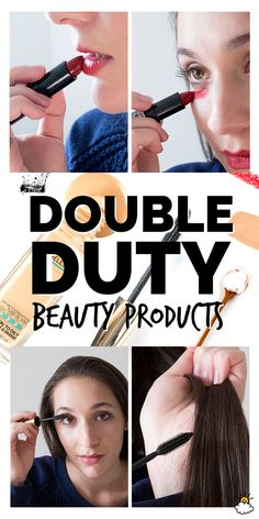 8 Unexpected Uses For Your Favorite Beauty Products