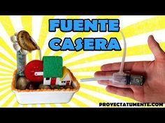 Construye tu Propia Fuente de Agua Decorativa Casera - YouTube