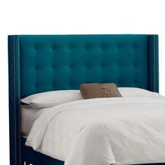 Skyline Furniture Nail Button Tufted Upholstered Headboard & Reviews | Wayfair