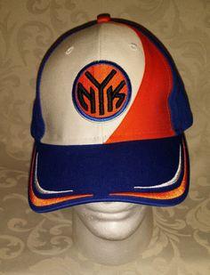 8724c72a0bd New York Knicks Men s NBA Adjustable Hat Cap Basketball Nice Embroidered