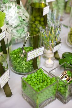 Green Candy Table