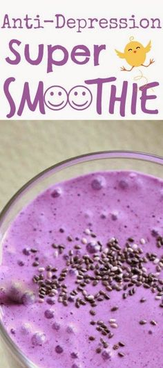 Skin Care And Health Tips: Anti-Depression Super Smoothie - Life And Shape