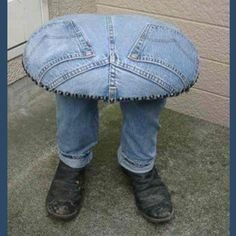 I love recycled denim jeans!