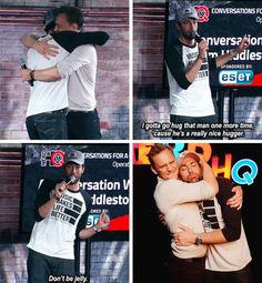 Nerd ❤️ ~ Zachary Levi and Tom Hiddleston
