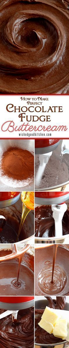 How to Make the Perfect Chocolate Fudge Buttercream Frosting {tutorial}…