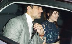 David Gandy goes home with a mystery brunette