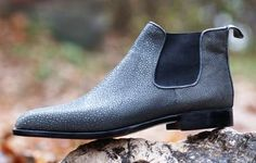 Maftei chelsea boot, stingray, bespoke