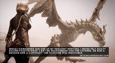 TES V: Skyrim Confessions I like this thought... But I still have never killed him