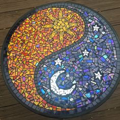 Small yin yang bistro table, perfect for the deck!