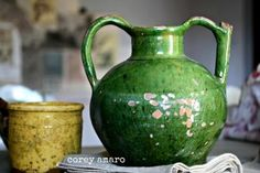 Antique Pottery, Provence, French